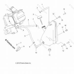 Polaris Atv 2013 Oem Parts Diagram For Engine  Oil System