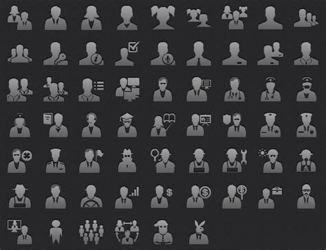 App Tab Bar People Icons For Ios