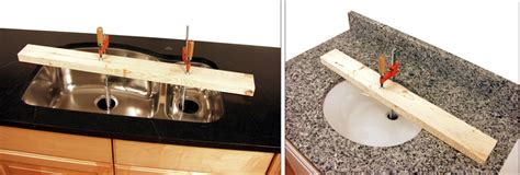 how to install undermount kitchen sink to granite undermount sink installation tool set
