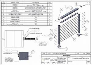 Aluminum Post And Rail Assembly Instructions