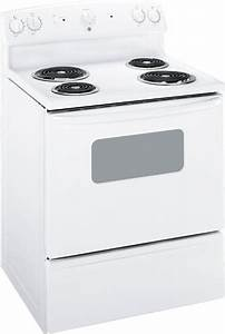 Ge Jbs07mww 30 Inch Electric Range With 4 Coil Elements  5