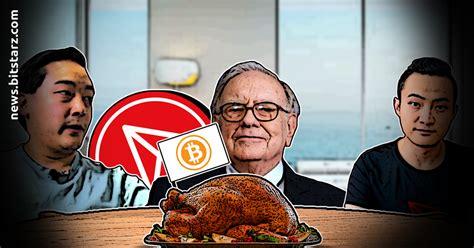 Tron's Justin Sun Finally Meets Warren Buffet - Bitstarz News