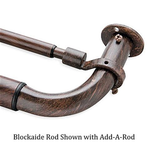 Blockaide Adjustable Curtain Rod by Blockaide Energy Efficient Curtain Rod Energy Efficient