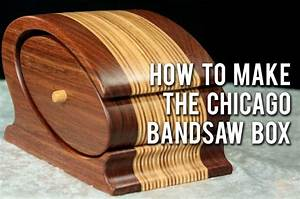 Bandsaw Box Templates - WoodWorking Projects & Plans