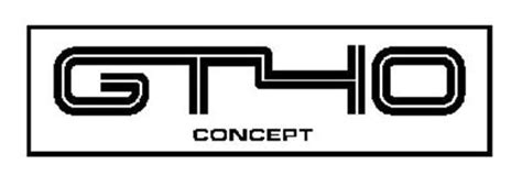 Gt40 Concept Trademark Of Ford Gt Parts Inc. Serial Number