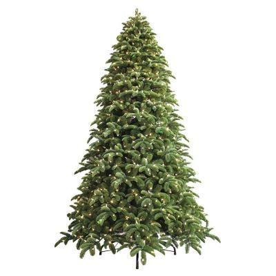 ge 9 ft just cut noble fir ez light artificial christmas