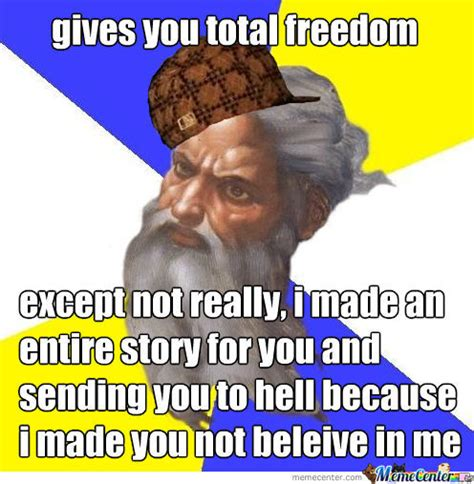 God Memes - scumbag god by damastur meme center