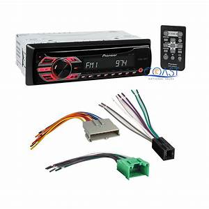 Pioneer Car Radio Stereo Wire Harness For Ford Lincoln