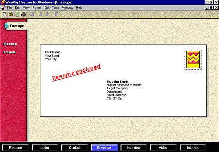 What Of Envelope For Resume by Resignation Letter Envelope Sle