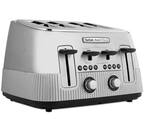 Tefal Avanti Toaster by Buy Tefal Avanti Classic Tt780e40 4 Slice Toaster Silver