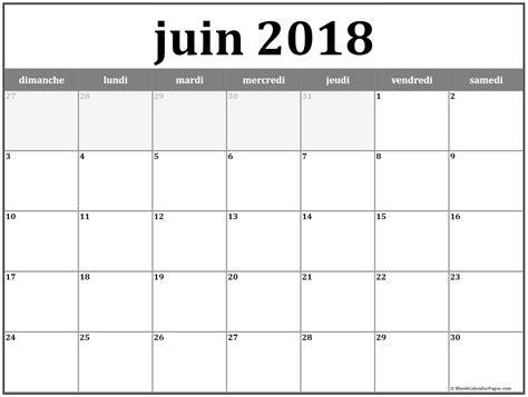 juin  calendrier imprimable calendar printables