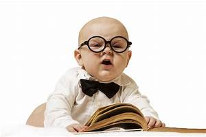 Funny Professor Babies Picture - Images, Photos, Pictures