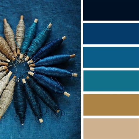 blue teal and taupe color palette color inspiraiton