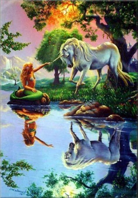 meerjungfrau mit einhorn ausmalbild malvorlage gemischt