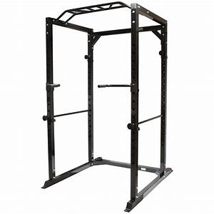 Sale Mirafit 350kg Heavy Duty Olympic Power Cage  Rack Squat Home Gym Opened Box