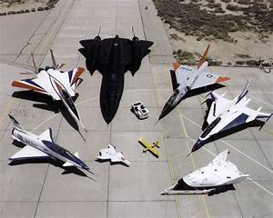Awesome collection of experimental NASA aircraft