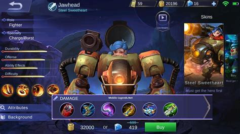 Jawhead Fighter-attack Build 2019