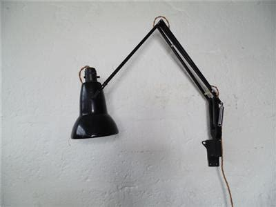 vintage herbert terry george carwardine black anglepoise wall light 1495a ebay