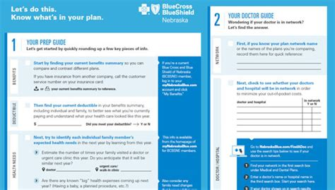 This worksheet can help you evaluate health plans and. Choose a Plan: Guided Open Enrollment Worksheet   BCBSNE