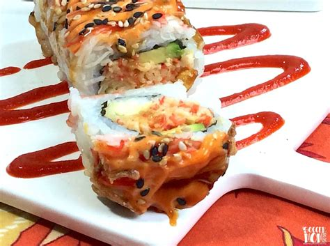 shaggy dog roll sushi easy copycat recipe  soccer