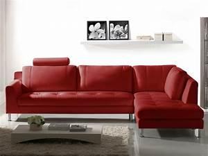 Canape angle droit rouge achat en ligne for Achat canapé en ligne