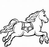 Coloring Pages Horse Cool Pony Printable Toddlers sketch template