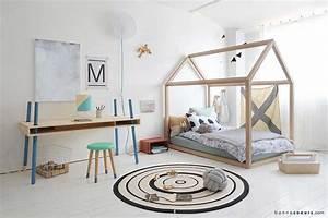 Lit Maison Bois : un lit cabane pour les enfants qui ont la chance d 39 avoir ~ Premium-room.com Idées de Décoration