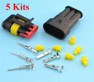 5 Kits Flame Retardancy 3p Waterproof Automotive Wire