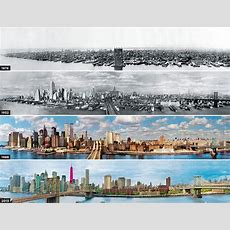 Picture Of The Day Evolution Of The New York Skyline