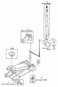 Craftsman 3 Ton Service Jack Parts
