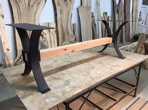 kitchen table bases metal steel dining table base ohiowoodlands metal table legs