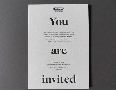 Corporate Invitations Archives Crafted by D&D Letterpress