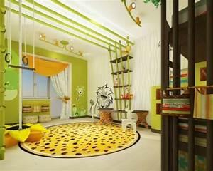 Dekoration Für Kinderzimmer : lustige dschungel dekoration im kinderzimmer 15 sch ne ~ Michelbontemps.com Haus und Dekorationen