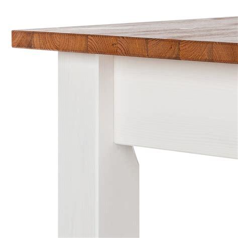 Tisch Weiss Holz by Esstisch Louis Ausziehbar Kiefer Home24