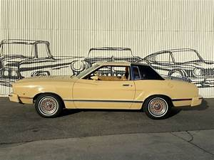 1977 Ford Mustang II 42435 Miles Tan Coupe - Classic 1977 Ford Mustang II