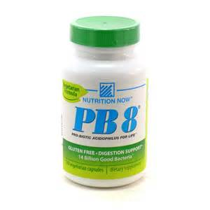 PB 8 - Pro-Biotic Acidophilus for Life by Nutrition Now 120 Capsules