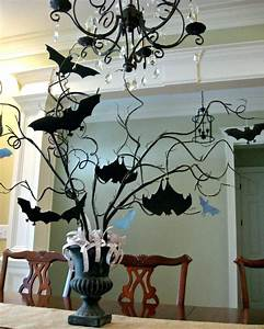 Decoration Halloween Pas Cher : decoration halloween a fabriquer decoration deco halloween ~ Melissatoandfro.com Idées de Décoration