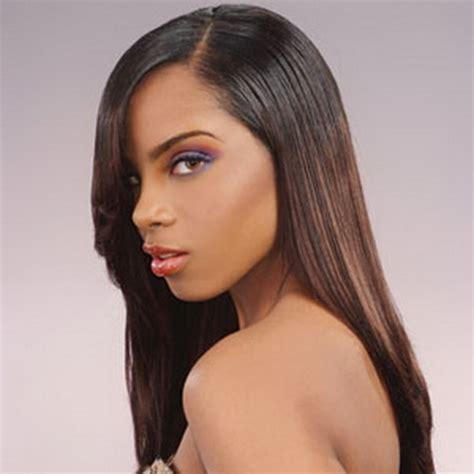 long black weave hairstyles