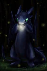 Drawings of Toothless the Dragon