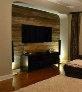 beautiful caves and reclaimed wood walls on pinterest With barnwood tv wall