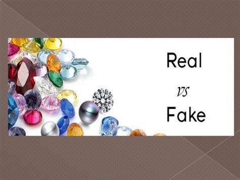 fake  real gemstones