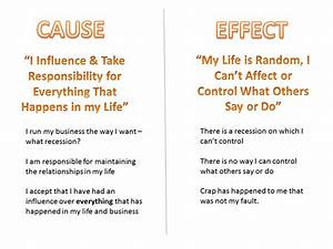 Cause and Effect | My Successful Life