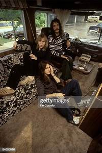 Usa Photo Of Tour Bus And Rush  Alex Lifeson  Geddy Lee