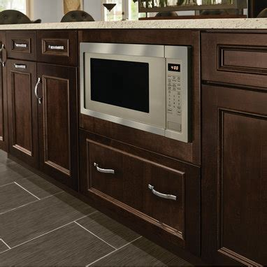 kraftmaid oven microwave cabinet cabinets matttroy