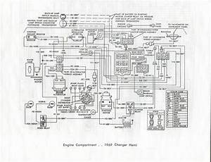 1969 Dodge Charger Instrument Panel Wiring Diagram Free