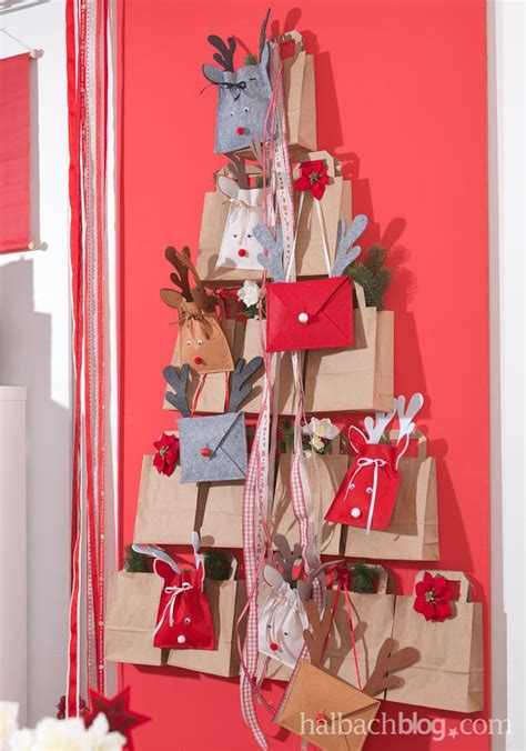 alternative weihnachtsbaum ideen i craftpaper t 252 ten i filz