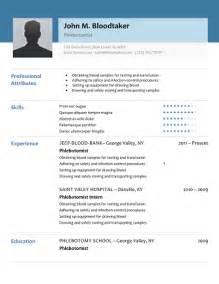 phlebotomist resume no experience 10 free phlebotomy resume templates to get you noticed now writing resume sle writing