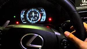 Lexus Speedometer Display Options