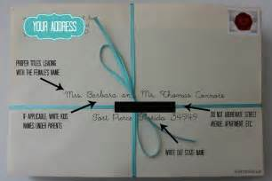 inspired i dos how to address wedding save the dates and invites - How To Address Wedding Invitations