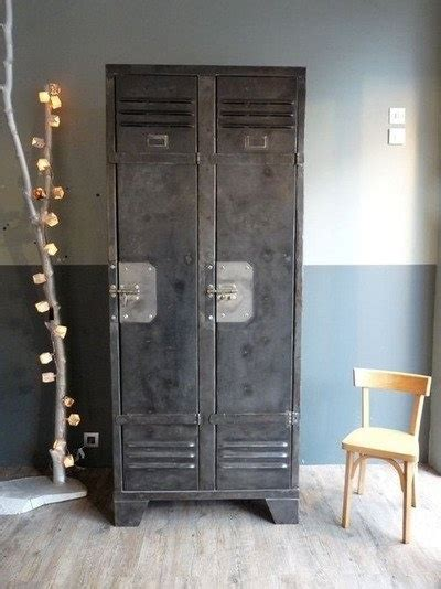 Armoire Style Militaire by 1000 Images About Metal Lockers Repurposed On Pinterest